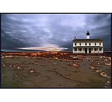 sandstorm lighthouse Photographic Print