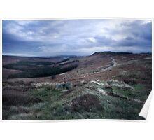 Hathersage Moor, Peak District Poster