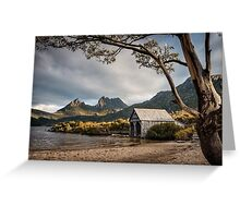 The Dove Lake Boathouse Greeting Card