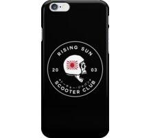 Rising Sun Scooter Club Tokyo iPhone Case/Skin