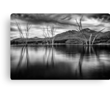 Where Once a River Flowed Canvas Print
