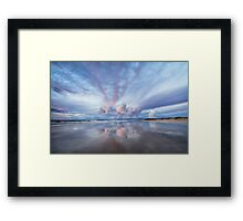 Sunset Blush Framed Print
