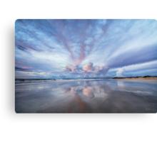 Sunset Blush Canvas Print