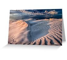 Sculpted Sandhills Greeting Card