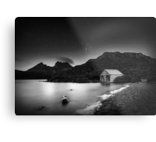 When All is Silent Metal Print