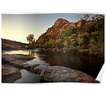 Sunrise at Bell Gorge Poster