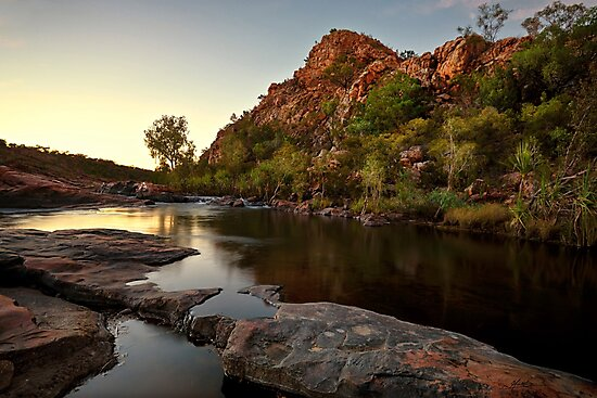 Sunrise at Bell Gorge by Mieke Boynton