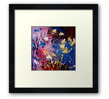 The Season Of Singing Has Come Framed Print