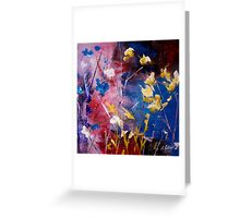 The Season Of Singing Has Come Greeting Card