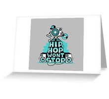 Hip Hop Greeting Card