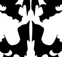 Rorschach Sticker