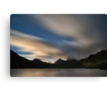 A Starry Cradle Mountain Canvas Print