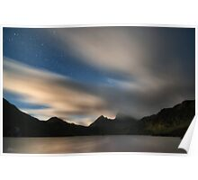 A Starry Cradle Mountain Poster
