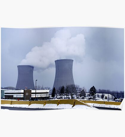 Nuclear Power Plant Poster