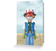 The Son of Pokemon Greeting Card