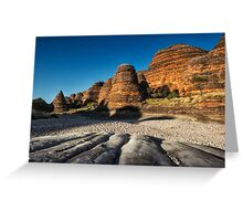 Stripes and Shadows Greeting Card