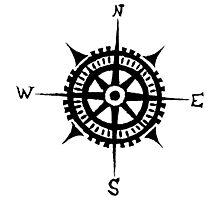 compass Photographic Print