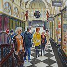 Royal Arcade, Melbourne (2) by Virginia  Coghill