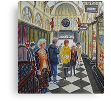 Royal Arcade, Melbourne (2) Canvas Print