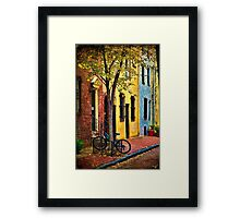 Autumn In Philly Framed Print