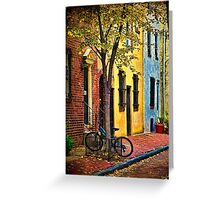 Autumn In Philly Greeting Card