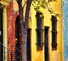 Autumn In Philly Sticker