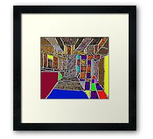 color-patches Framed Print