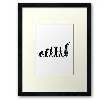Evolution Painter  Framed Print
