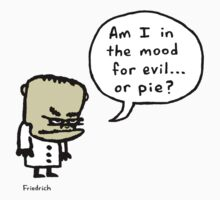 Evil or Pie Kids Tee