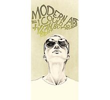 Modern art portrait Photographic Print