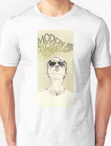 Modern art portrait Unisex T-Shirt