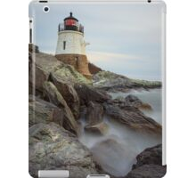 Castle Hill Lighthouse at Sunset iPad Case/Skin