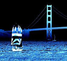 Blue Still Water by savapavo