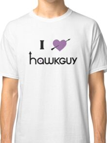 I heart Hawkguy (purple variant) Classic T-Shirt
