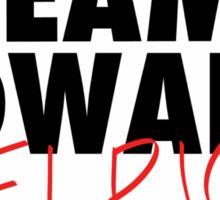 Team Edward Sticker
