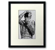 Jesse Rutherford Drawing Framed Print