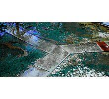 3 Paths Photographic Print