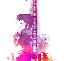 Prince Guitar Electric by JBJart