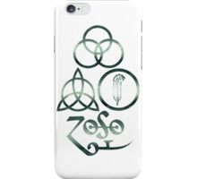 LARGE METAPHYSICAL RUNES - The Ocean iPhone Case/Skin