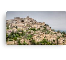 Ancient French Village Canvas Print