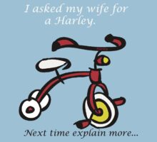 I Asked for a Harley! T-Shirt