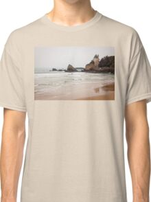 Mysterious Mansion on the Beach Classic T-Shirt