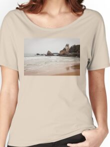 Mysterious Mansion on the Beach Women's Relaxed Fit T-Shirt
