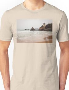 Mysterious Mansion on the Beach Unisex T-Shirt