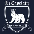 LeCapelain Family Crest (white) by fireflyjar