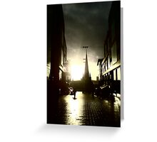 The Bullring Cathederal Greeting Card