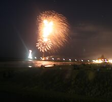 Fireworks at Brighton, S.A. by elphonline