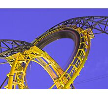 Loch Ness Monster, Busch Gardens, VA Photographic Print