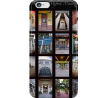 The Doors of Oxford, Mississippi iPhone Case/Skin