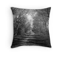 Wylam riverside walk Throw Pillow